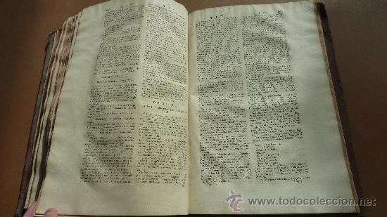 Libros antiguos: libro El gran diccionario de la Biblia. 1740. En frances. - Foto 14 - 30482284