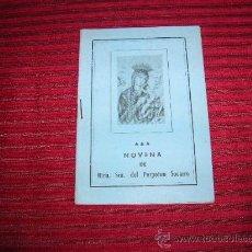 Libros antiguos: LIBRITO NOVENA DE NTRA. SRA. DEL PERPETUO SOCORRO. Lote 30438976