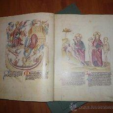 Libros antiguos: FACSIMIL. (BIBLIA PAUPERUM) EL CODEX PALATINUS LATINUS 871.. Lote 30475599