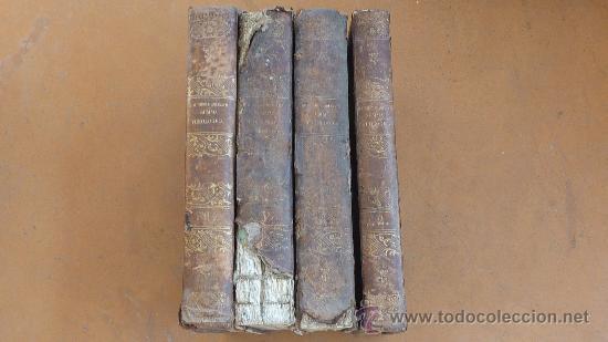 4 TOMOS. SUMMA THEOLOGICA. COMPLETO. 1841. DE PETRI LOMBARDI. (Libros Antiguos, Raros y Curiosos - Religión)