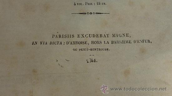 Libros antiguos: 4 tomos. Summa theologica. Completo. 1841. De Petri Lombardi. - Foto 7 - 30501503