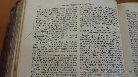 Libros antiguos: 4 tomos. Summa theologica. Completo. 1841. De Petri Lombardi. - Foto 15 - 30501503