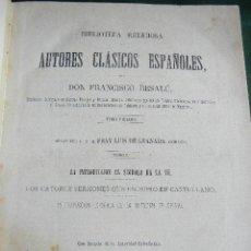 Libros antiguos: LA INTRODUCCIÓN AL SÍMBOLO DE LA FÉ.CATORCE SERMONES QUE ESCRIBIÓ EN CASTELLANO.FRAY LUIS DE GRANADA. Lote 31154392