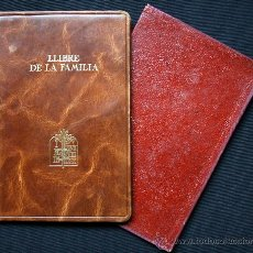 Libros antiguos: 1936 / LLIBRE DE FAMILIA PER A LES DADES MÉS IMPORTANTS DE LA VIDA DELS ESPOSOS I LLURS FILLS. Lote 31204714