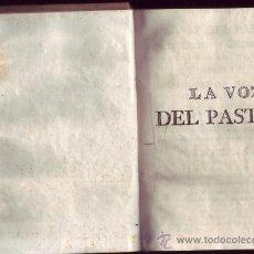 Alte Bücher - La voz del Pastor. Discursos familiares para todos los domingos del año, del señor Reguis, Cura de A - 31502661