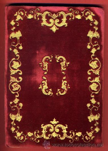 Libros antiguos: LIBRO, NOVENARIO SRA DEL UNIVERSO, MARIA SANTISIMA DEL PILAR ZARGOZA, 1862 , ORIGINAL - Foto 2 - 31710563