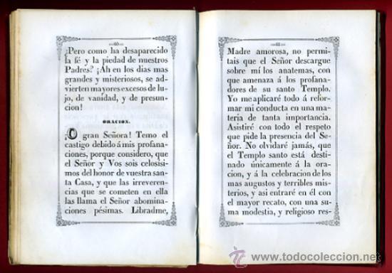 Libros antiguos: LIBRO, NOVENARIO SRA DEL UNIVERSO, MARIA SANTISIMA DEL PILAR ZARGOZA, 1862 , ORIGINAL - Foto 4 - 31710563
