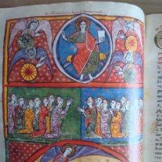 Libros antiguos: BEATO DE LIÉBANA DE LAS HUELGAS, AÑO 1220 (EL MÁS GRANDE Y ESPECTACULAR) (5*). FACSÍMIL. SCRIPTORIUM. Lote 30278218