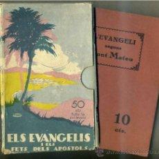 Libros antiguos: ELS EVANGELIS I ELS FETS DELS APOSTOLS - EN CATALÁN (SOCIETAT BÍBLICA BRITÀNICA I ESTRANGERA, 1933). Lote 31820815