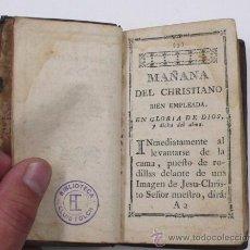 Libros antiguos: ORACIONES Y MEDITACIONES PARA EL SANTO SACRIFICIO, 7,5X13 CM.. Lote 195171652