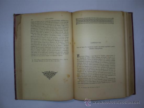Libros antiguos: Apostolado Seráfico en Marruecos ó sea Historia de las Misiones Franciscanas en aquel 1896 RM57961-V - Foto 3 - 32111296