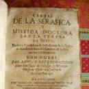 Libros antiguos: 1671- CARTAS DE SANTA TERESA DE JESÚS. ZARAGOZA. DIEGO DORMER. DOS TOMOS.PUEDE PAGARSE A PLAZOS. Lote 32201323