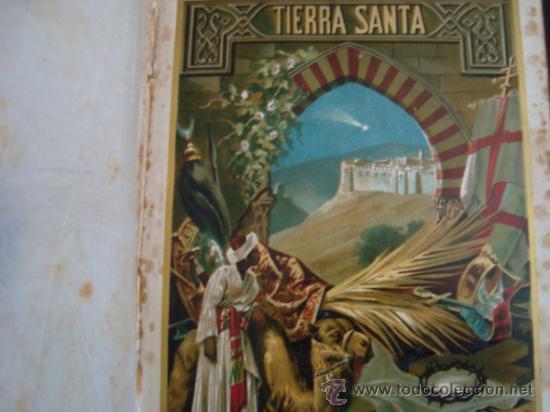Libros antiguos: La Tierra Santa ó Palestina. 1896.salvador ribas ed. - Foto 3 - 32211590