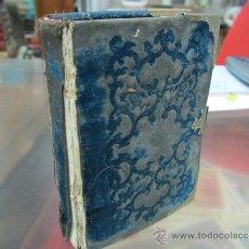 Libros antiguos: DIAMANTE DIVINO, DEVOCIONARIO Y ORDINARIO DE LA MISA, AÑO 1852. Lote 32398257