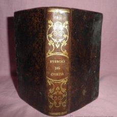 Libros antiguos: EXERCICI DEL CRISTIÁ - JOSEPH ULLASTRE (PERELADA) - AÑO 1847 - EN CATALAN·GRABADOS.. Lote 32563603