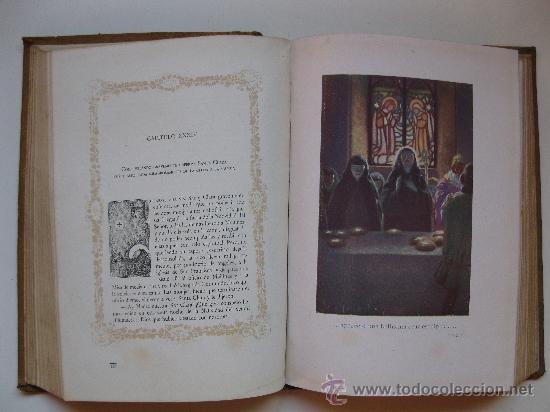 Libros antiguos: FLORECILLAS DE SAN FRANCISCO - ILUSTRACIONES DE J. SEGRELLES - BIBLIOTECA FRANCISCANA - AÑO 1926. - Foto 4 - 32668142