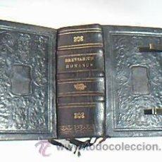 Libros antiguos: BREVIARIUM ROMANUM EX DECRETO SS. CONCILII TRIDENTINI. MECHLINI/E P.J. BULQUENS, TYPOGRAPHUS 1847. Lote 32819098