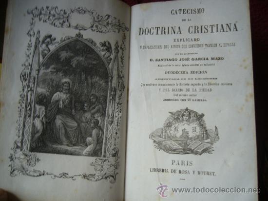 Libros antiguos: DOCTRINA CRISTIANA (CATECISMO) - Foto 3 - 18296289