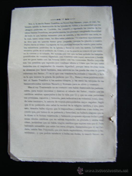 Libros antiguos: COLECCIONABLE AÑO CRISTIANO PRIMERAS PÁGINAS Nº 1, PAPELETA DE SUSCRIPCIÓN, 1891. MADRID, VER FOTOS. - Foto 6 - 33247451