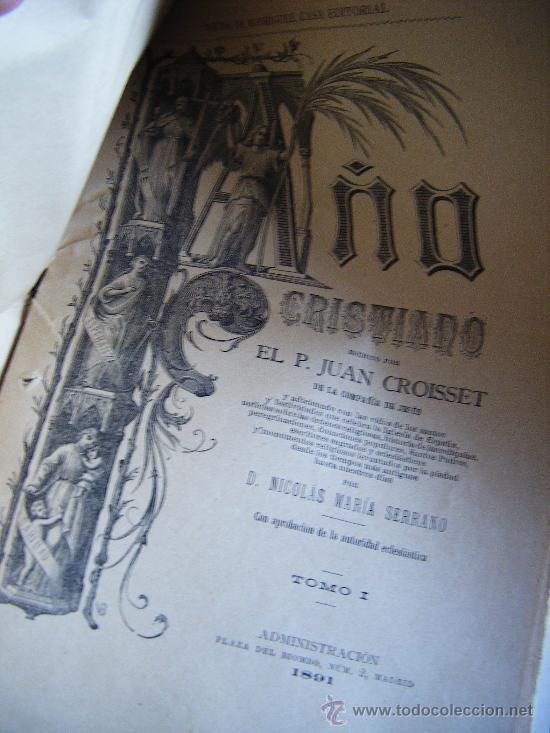 COLECCIONABLE AÑO CRISTIANO PRIMERAS PÁGINAS Nº 1, PAPELETA DE SUSCRIPCIÓN, 1891. MADRID, VER FOTOS. (Libros Antiguos, Raros y Curiosos - Religión)