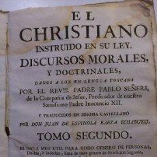 Libros antiguos: PERGAMINO LIBRO EL CRISTIANISMO. Lote 33256174