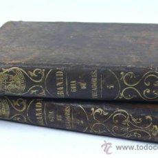 Libros antiguos: GUIA DE PECADORES, FR. LUIS DE GRANADA. 2 TOMOS. AÑO 1863. 9X15 CM. Lote 33298296