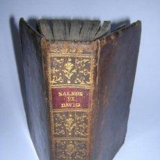 Libros antiguos: 1787 - EUGENIO GARCIA - INTERPRETACION SALMOS DAVID Y CANTICOS SAGRADOS. Lote 33398001