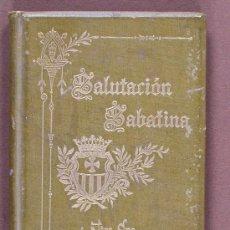 Libros antiguos: SALUTACIÓN SABATINA A NTRA. SRA. DE LA MERCED. Lote 33752663