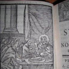 Libros antiguos: LES STATIONS DE JERUSALEM, R.P.PARVILLIERS, 1739. CONTIENE 1 FRONTISPICIO Y 18 GRABADOS.. Lote 34060067