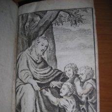 Libros antiguos: INSTRUCTION DE LA JEUNESSE EN LA PIETÉ CHRETIENNE, C. GOBINET, 1690. CONTIENE 1 FRONTISPICIO Y 4 GRA. Lote 34396274