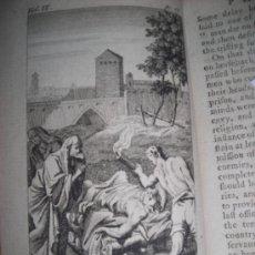Libros antiguos: PLUTARCH´S LIVES, NEWBERY, 1762. CONTIENE 9 GRABADOS. Lote 34397763
