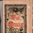 Libros antiguos: SEMANA SANTA,1904,VIA CRUCIS,BLANCO Y NEGRO,PRECIOSA ENCUADERNACIÓN,VER FOTOS. Lote 34466177