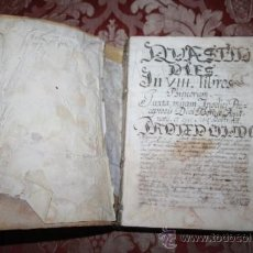 Libros antiguos: MANUSCRITO DEL RELIGIOSO JACOBO TORRENTS DE CODINES. 1698. S-B. Lote 34613114