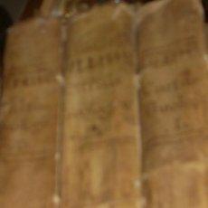 Libros antiguos: SUMMA S.THOME, CURSUS THEOLOGIAE, 3 TOMOS, EDITIO PRIMA MATRITENSIS ANNO 1790,TYPIS VIDUAE ESCRIBANO. Lote 35078809
