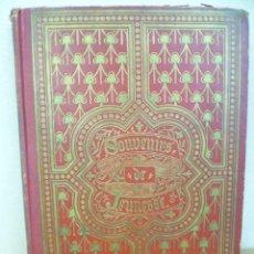 Libros antiguos: SOUVENIRS DE JEUNESSE. - J. HUNERLAND - CELEBRITES CATHOLIQUES CONTEMPRAINES - 1896 (VER FOTOS). Lote 35578250