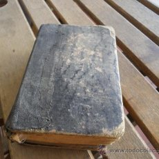 Libros antiguos: LIBRO OFICIO DE LA SEMANA SANTA EN LATIN Y CASTELLANO 1890 PARA RESTAURAR. Lote 35631807