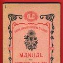Libros antiguos: FOLLETO , MANUAL ADORADOR NOCTURNO , HONORARIO , ALICANTE 1902 , ORIGINAL. Lote 35734558
