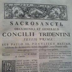 Libros antiguos: CANONES ET DECRETA SACROSANCTI OECUMENICI ET GENERALIS CONCILI TRIDENTINI. MADRID 1564. 677 PÁGINAS.. Lote 36100930