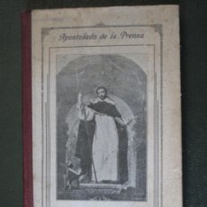 Libros antiguos: VIDA DE SANTO DOMINGO DE GUZMAN - EDICION 1923.. Lote 36415612