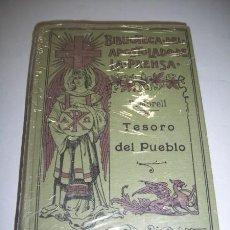 Libros antiguos: MORELL, FRANCISO. TESORO DEL PUEBLO. Lote 36763957