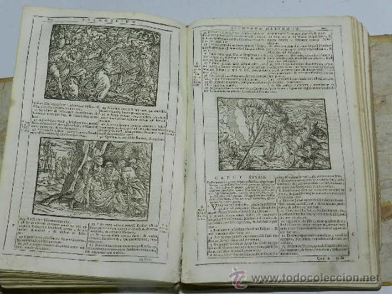 Libros antiguos: AÑO DE 1754 VULGATAE EDITIONIS. SIXTI V. & CLEM. VIII. PONT. MAX. Venetiis, Nicolaum Pezzana, - Foto 3 - 36916573