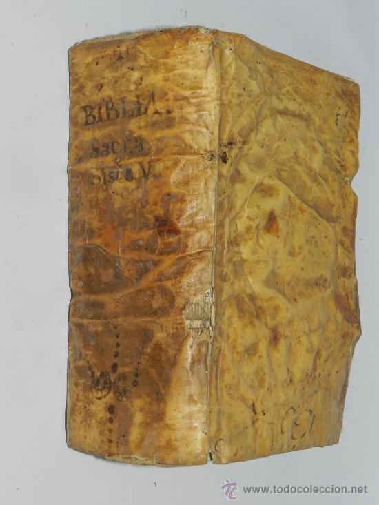 Libros antiguos: AÑO DE 1754 VULGATAE EDITIONIS. SIXTI V. & CLEM. VIII. PONT. MAX. Venetiis, Nicolaum Pezzana, - Foto 6 - 36916573