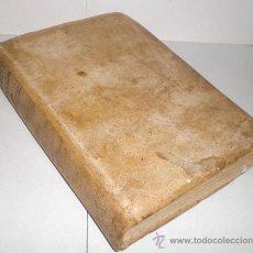 Libros antiguos: INSTRUCCIONES GENERALES EN FORMA DE CATECISMO (1785). PERGAMINO. TOMO IV: EXORCISMOS, BENDICIONES.... Lote 37160686