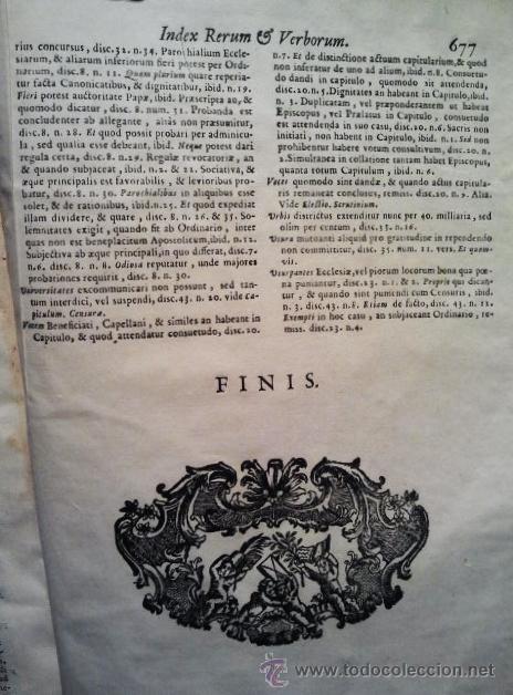 Libros antiguos: Canones et decreta sacrosancti oecumenici et generalis Concili Tridentini. Madrid 1564. 677 páginas. - Foto 4 - 36100930