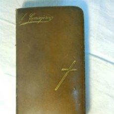 Libros antiguos: EL CONSEJERO DE LA PRIMERA COMUNION POR UN DEVOTO MARIANO DE 1893. Lote 37537270
