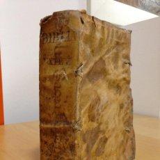Libros antiguos: 1710.- BIBLIA SACRA VULGATAE EDITIONIS SIXTI V PONTIF. MAX. JUSSU RECOGNITA, CLEMENTIS VIII AUCTORIT. Lote 37876258