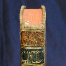 Alte Bücher - ORACIÓN Y MEDITACIÓN , FRAY LUIS DE GRANADA - 37962315