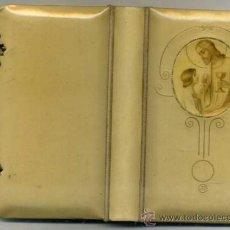 Libros antiguos: MISAL PRIMERA COMUNIÓN LLAVE DEL PARAÍSO (C. 1914) CUBIERTAS DE DISEÑO MODERNISTA. Lote 38172987