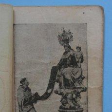 Libros antiguos: NOVENA SANTISIMA VIRGEN DEL CARMEN - DE ZARAGOZA Y PARADA - 1946. Lote 38367525