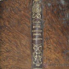 Libros antiguos: MANUAL DE EDUCACIÓN SAGRADA Y ECLESIÁSTICA ORDENADO EN FORMA DE DICCIONARIO. BERNARDO SALA RM62805. Lote 38434855